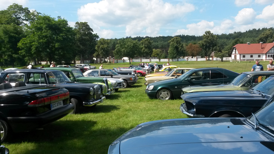 Oldtimer Rallye in Bad Saarow